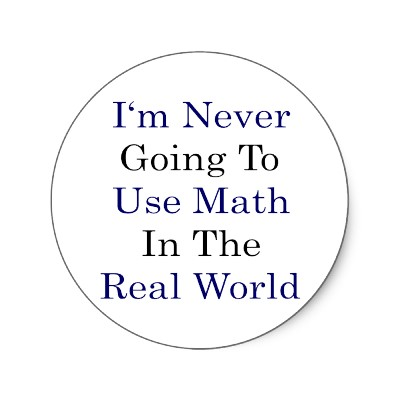 Learning Math in Real World Contexts