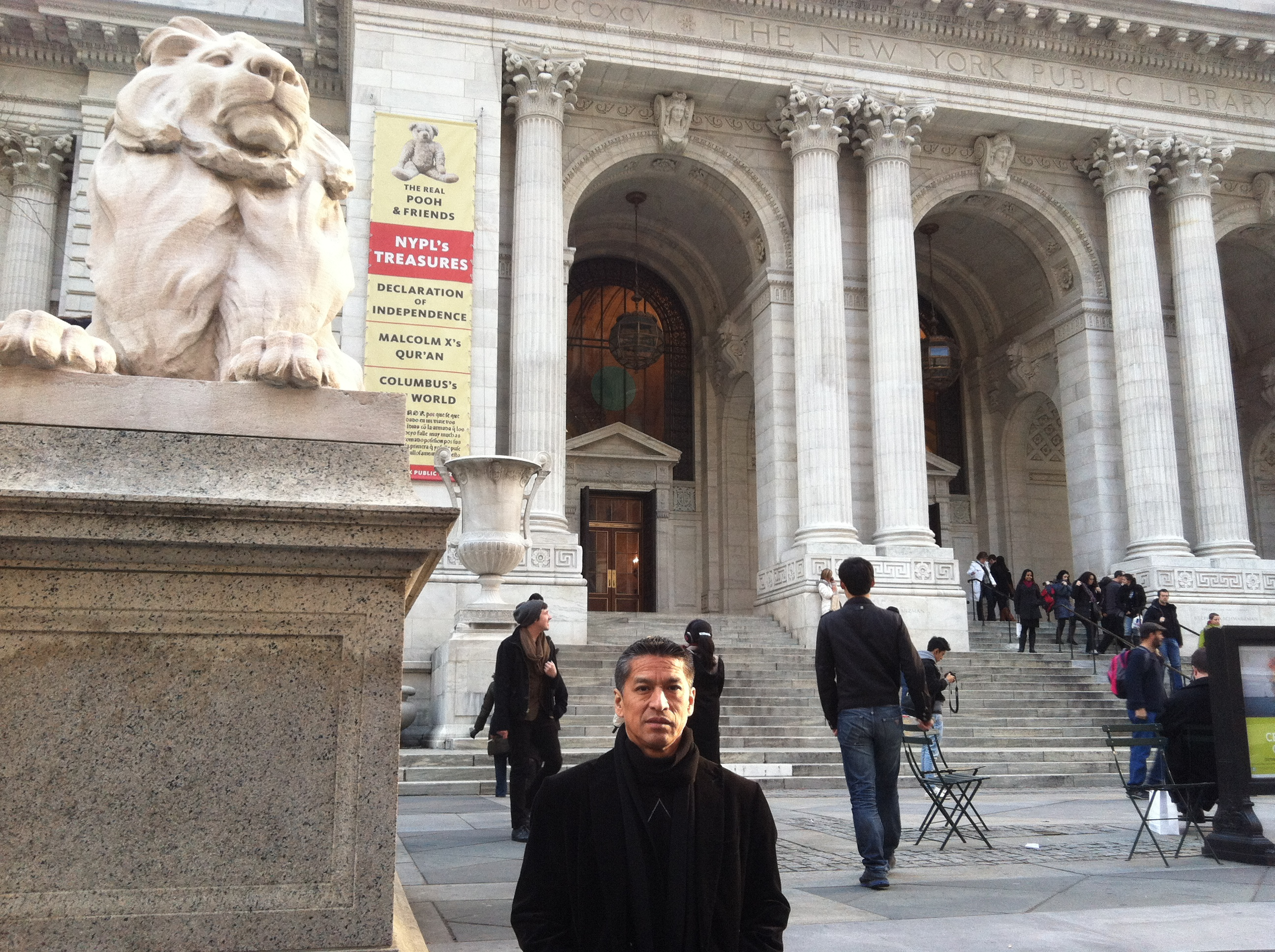 New Experience #1 – New York Public Library