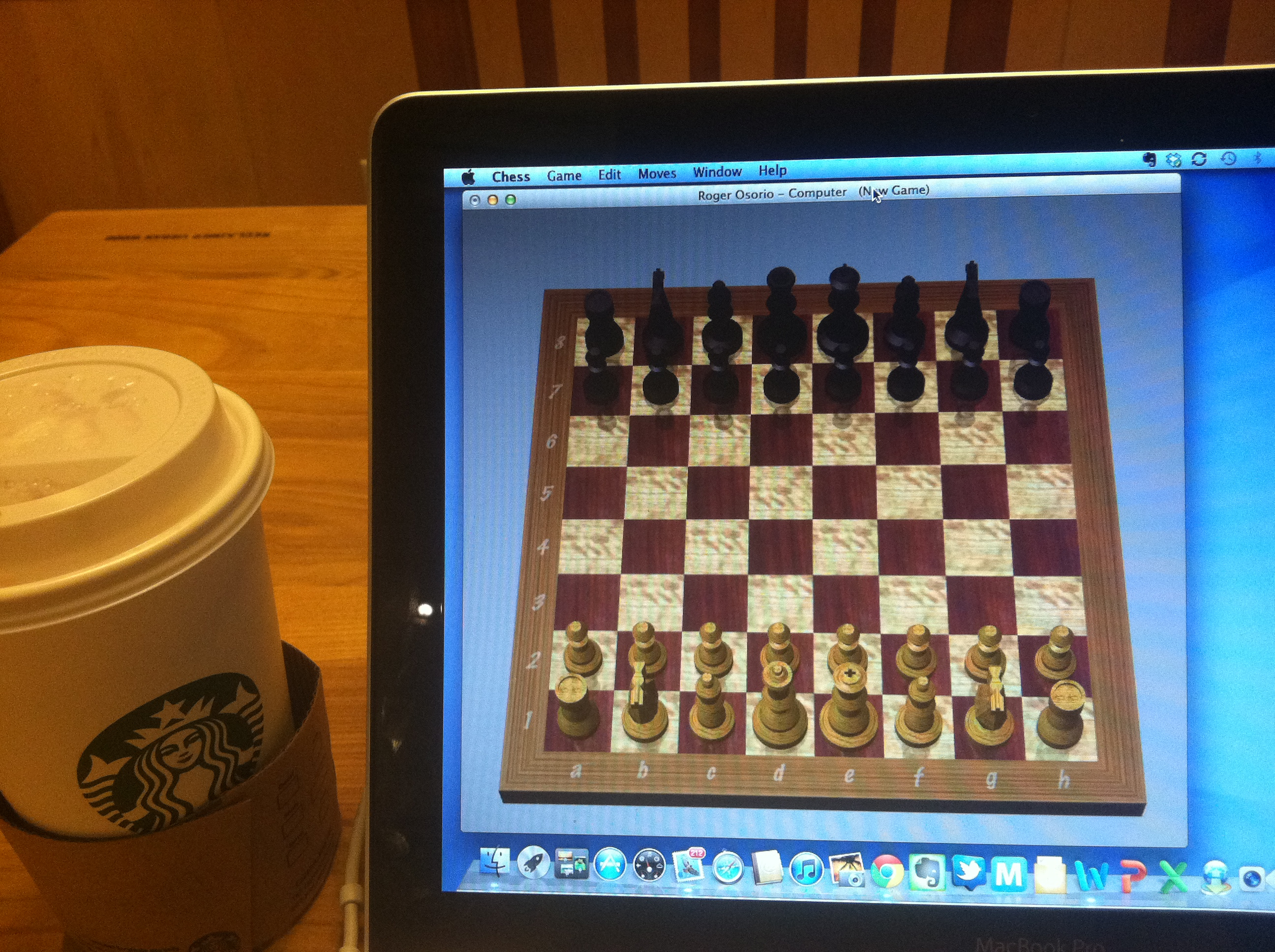 New Experience #4 – Learning to Play Chess