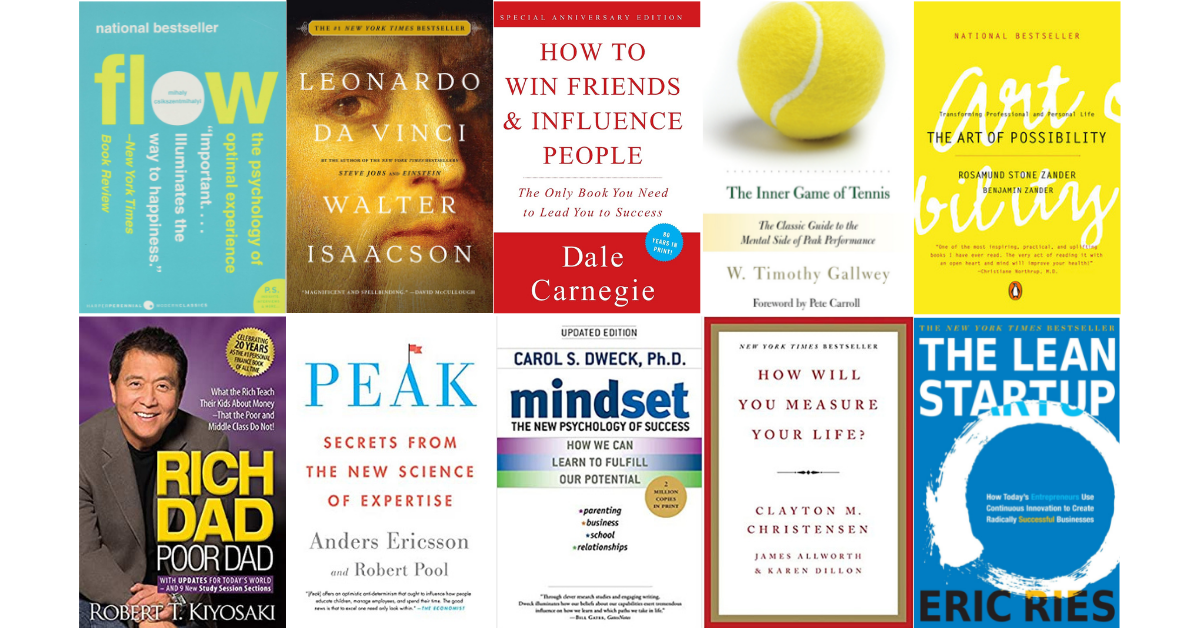 10 Books to Build Your Dream Career!